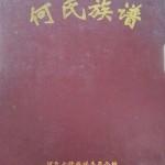 《何氏族谱》(封面)