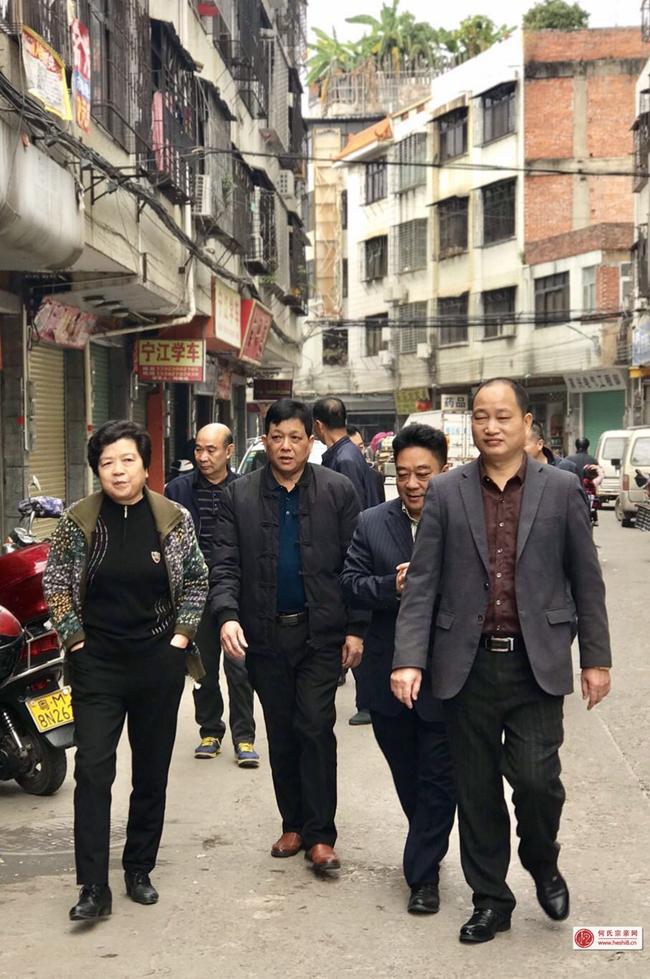 简讯 广东何氏宗亲总会副总会长何汉扬率队到梅州市何氏总会调研